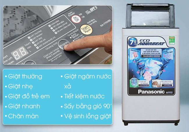 máy giặt panasonic-na-f70vb6hdk chính hãng