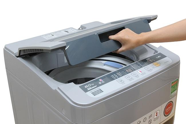 thanh lý máy giặt panasonic-8-kg-na-f80vs9grv
