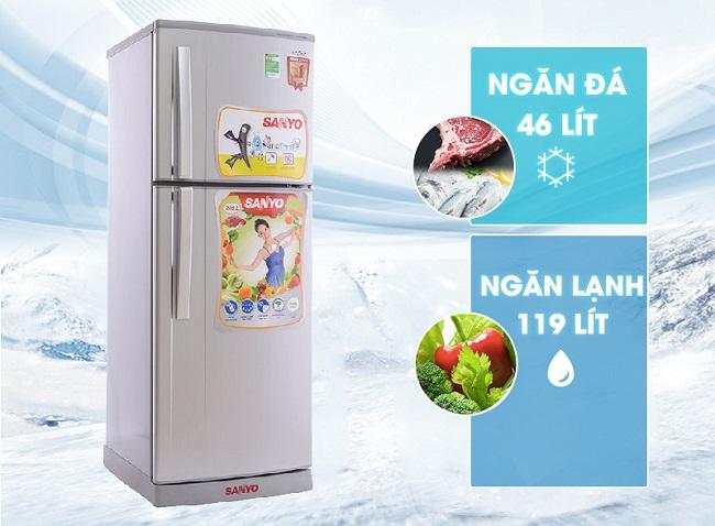 tủ lạnh sanyo-sr-s185pn-sn-31