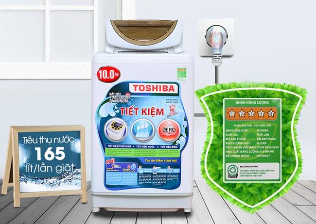 máy giặt toshiba tiết kiệm