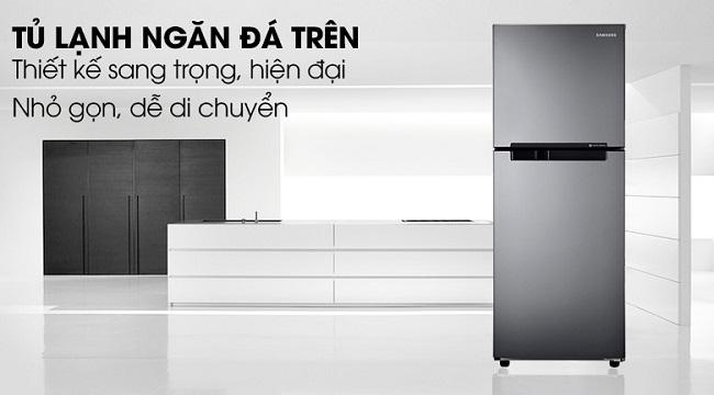 tủ lạnh samsung rt19m300bgssv