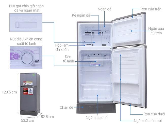 tủ lạnh sharp tại tphcm
