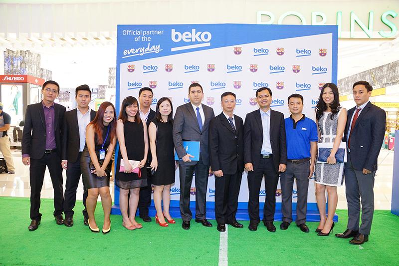 Buổi lễ ra mắt thương hiệu BEKO tại Việt Nam