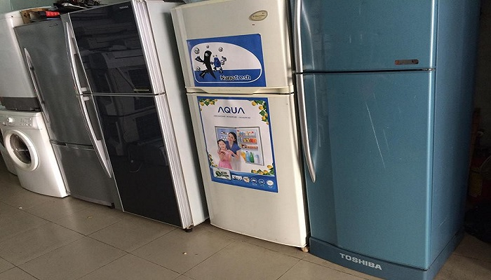tủ lạnh máy giặt cũ
