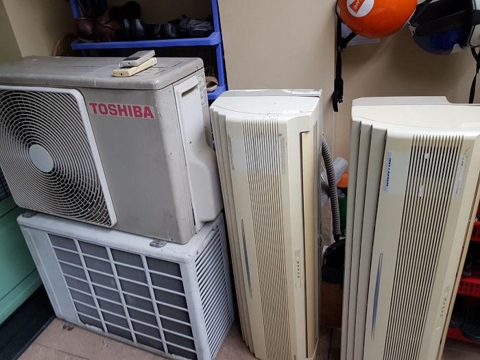 thu mua máy lạnh cũ Bình Thạnh