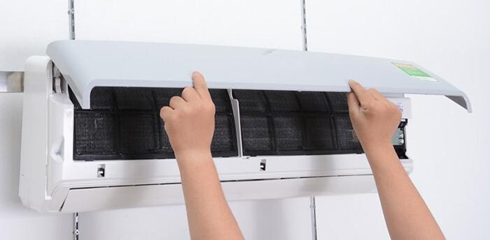 vỏ máy lạnh